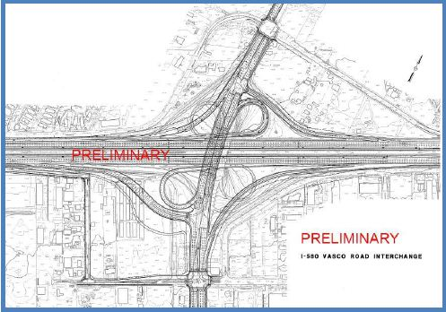 B-4: I-580/Vasco Road Interchange Modification
