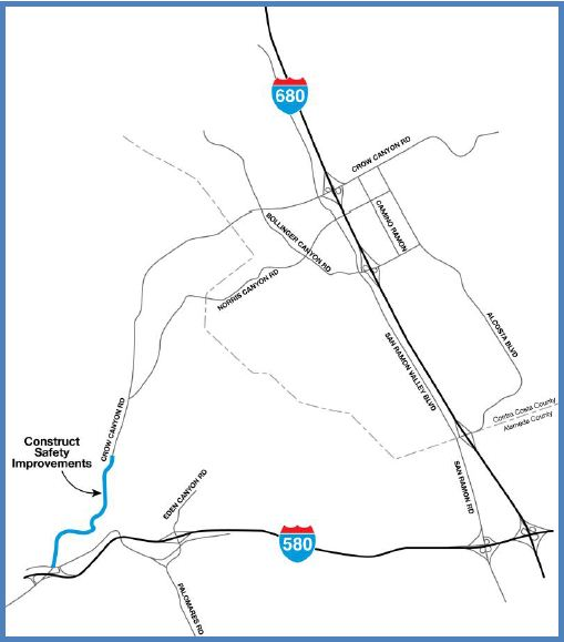 A-9a: Crow Canyon Road Improvements Phase 1