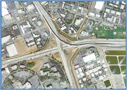 B-1:  I-580/I-680 Interchange (westbound to southbound)